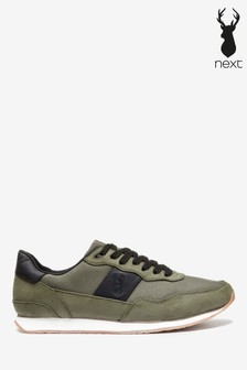Mens Green Trainers | Suede \u0026 High Top