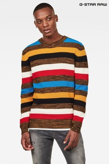 G-Star Gold Mike Stripe Knit Jumper
