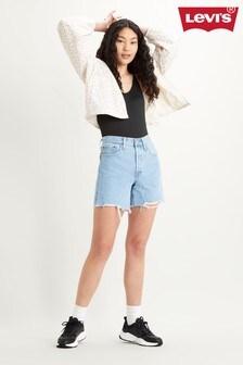 Levi's® 501® Mid Thigh Raw Hem Shorts