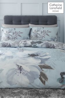 Catherine Lansfield Exclusive To Next Dramatic Floral Duvet Cover And Pillowcase Set