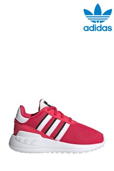 adidas Originals Pink/White Lite Runner Infant Trainers