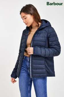Barbour® Coastal Navy Padded Hybrid Murrelet Jacket