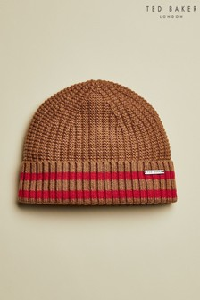 Ted Baker Tan Donie Knitted Hat