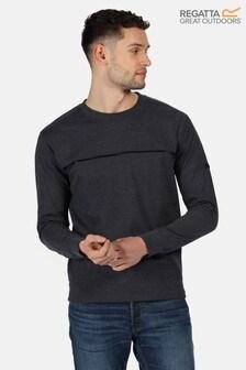 Regatta Blue Payson Fleece Sweatshirt