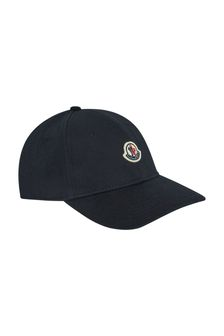 Moncler Enfant Cotton Logo Cap