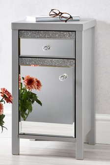 Harper Gem Mirrored Storage Unit