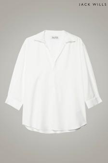قميص كاجوال Southcote Soft أبيض كلاسيكي من Jack Wills