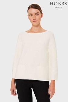 Hobbs Cream Kendall Sweater