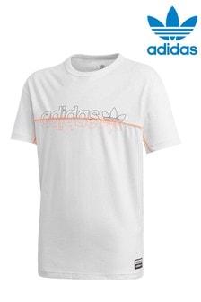 adidas Originals White R.Y.V T-Shirt