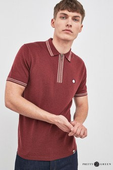 Pretty Green Sutton Knitted Polo
