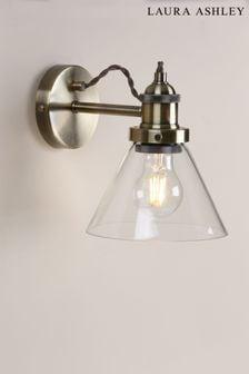 Laura Ashley Brass Isaac Wall Light
