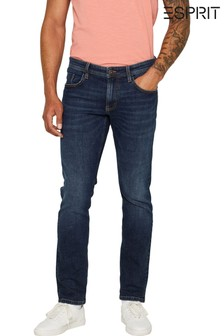 Esprit Blue Dark Wash Stretch Denim Jeans