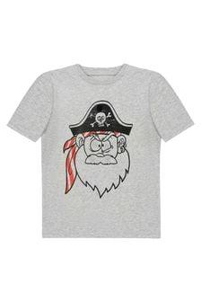 Stella McCartney Kids Boys Grey Cotton T-Shirt