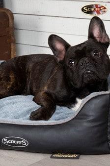 Medium Chateau Memory Foam Orthopaedic Dog Box Bed by Scuffs