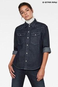 G-Star Blue Western Denim Relaxed Shirt