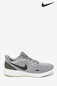 Nike Run Grey/White Revolution 5 SE Trainers