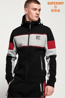 Superdry Gym Tech Stretch Block Zip Hoody