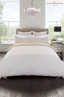 Sam Faiers Thea Geo Cotton Duvet Cover And Pillowcase