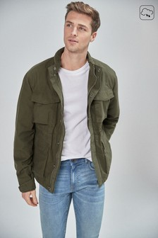 Lightweight Utility Four Pocket Jacket