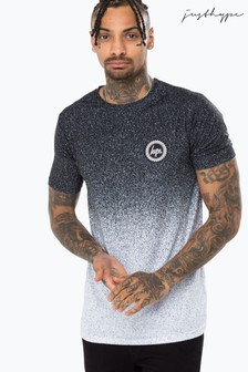 Hype. Mens Crest Speckle Fade T-Shirt