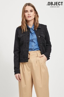 OBJECT Sustainable Stretch Denim Jacket