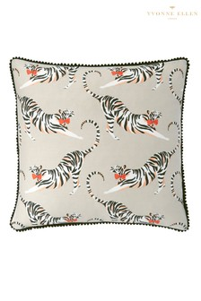 Yvonne Ellen Tonal Tiger Cushion