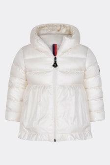 Baby Girls Ivory Down Padded Odile Jacket