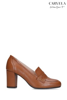 Carvela Comfort Angelica Tan Shoes
