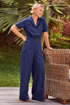 Emma Willis Belted Jumpsuit
