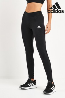 adidas Black Must Have 3 Stripe Leggings