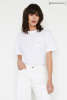 Warehouse White Utility T-Shirt