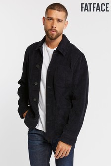 FatFace Blue Cord Worker Jacket