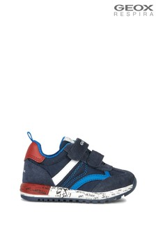 Geox Boy's Alben Blue Shoes