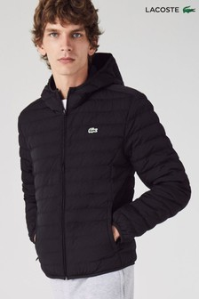 Lacoste® Black Padded Jacket