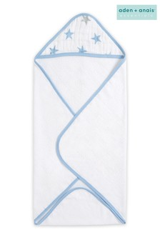 aden + anais Essentials Blue Hooded Towel