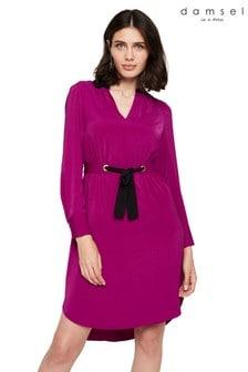 Damsel In A Dress Purple Hannah Colourblock Dress