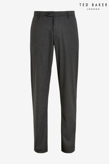 Ted Baker Samirar Slim Fit Semi Plain Trousers