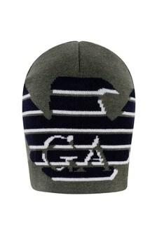Emporio Armani Boys Wool Logo Hat