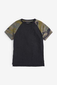 Raglan Short Sleeve T-Shirt (3-16yrs)