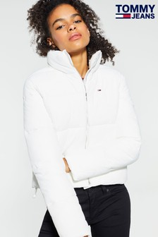 Tommy Jeans White Modern Padded Jacket