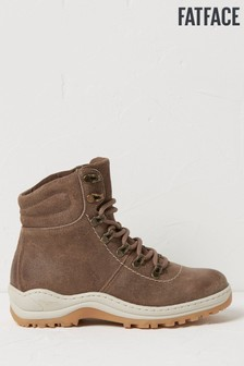 FatFace Brown Leigh Hybrid Hiker Boots