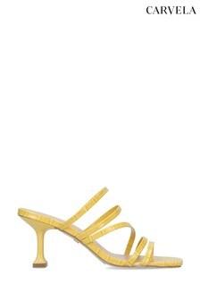 Carvela Glory Yellow Heeled Sandals