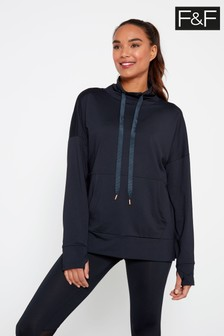 F&F Navy Tech Sweater