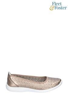 Fleet & Foster Brown Anne Slip-On Shoes
