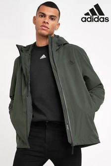 adidas Khaki 3 Stack Rain Ready Jacket