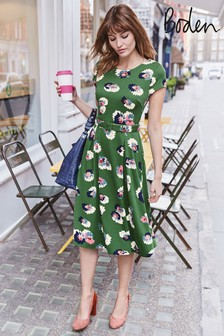 Boden Green Aida Ponte Dress