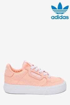 adidas Originals Pink Continental 80 Vulc Infant Trainers