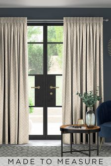 Arket Copper Brown Made To Measure Curtains