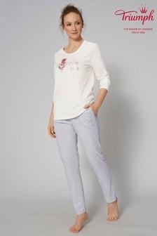 Triumph® White Pyjama Set