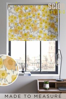 Scion Living Exclusively at Next Ochre Ranni Made to Measure Roman Blind